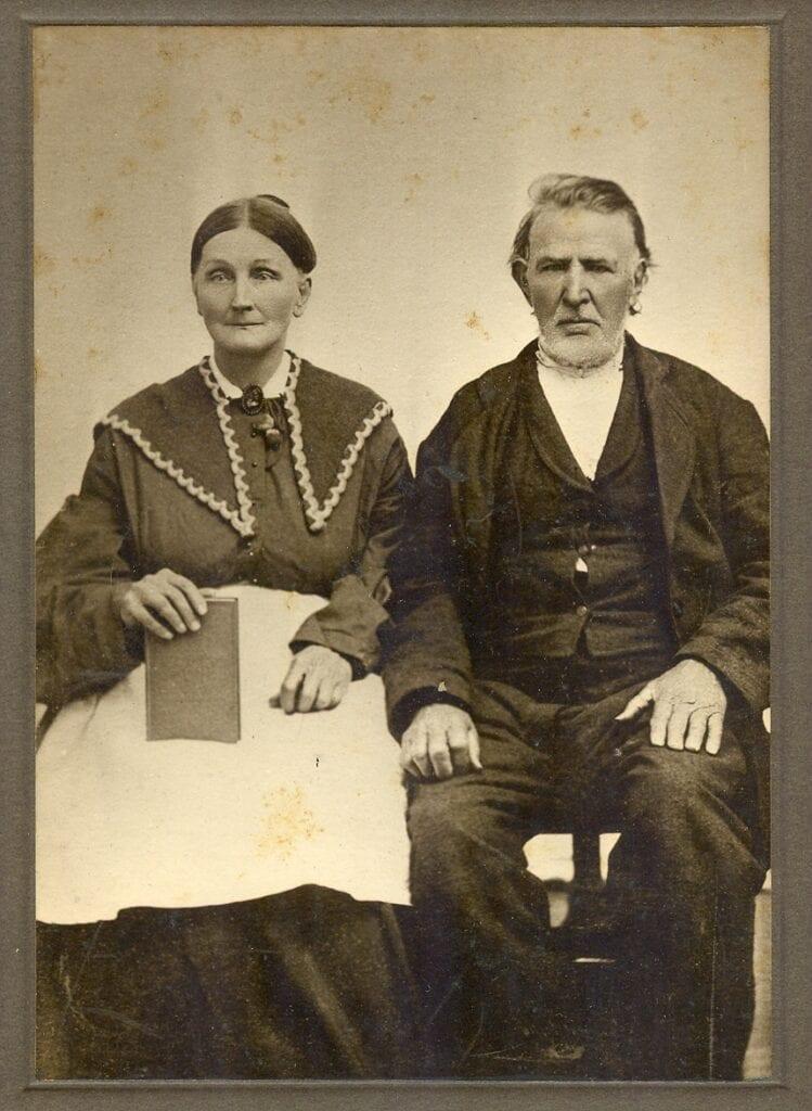 Sarah Brock Humphries with 2nd husband, Henry McBride