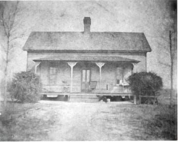 Amos Daniel Humphries Home