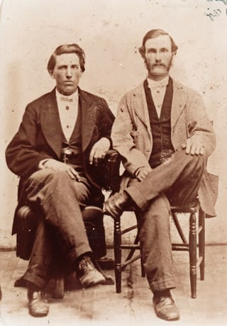 Amos Daniel Humphries (left) and<br> Elbert Herren (right)