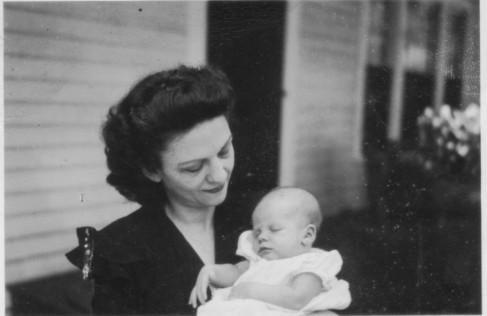 Iris with Newborn Kirby